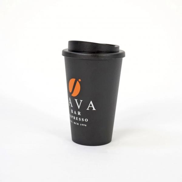 Reusable Java Travel Cup
